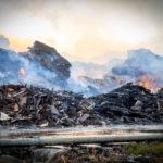 Incendio Kastamonu. Prime analisi di approfondimento Arpa: diossina sì, ma livelli non allarmanti