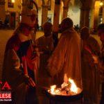 [ photogallery ] Nella Cattedrale di Pinerolo il vescovo Derio ha presieduto la veglia pasquale