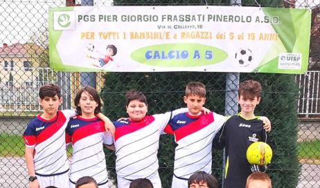 Calcio a 5. Una bella vittoria per i Pulcini della PGS Pinerolo