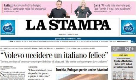 """""""Volevo uccidere un italiano felice"""""""