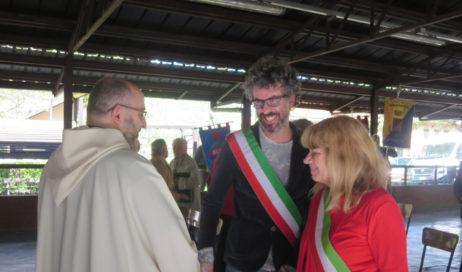 [Photogallery]. Messa e corteo: il primo maggio a Villar Perosa
