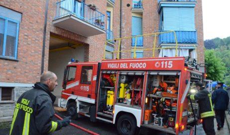 Incendio ad Abbadia Alpina. Evacuate sette famiglie