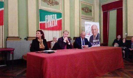 Regionali ed Europee. A Pinerolo per Forza Italia Ruzzola, Malan, Ruffino e Cirio