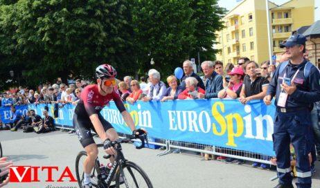 [ foto e video ] Giro d'Italia.  Il russo Ilnur Zakarin si aggiudica la 13 tappa partita questa mattina da Pinerolo