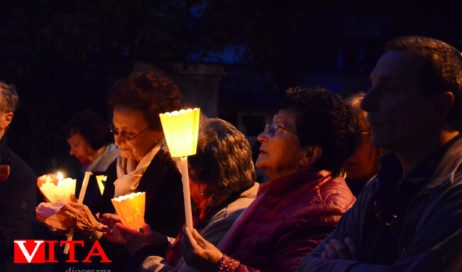 [ Photogallery ] A Pinerolo la processione in onore della Madonna di Fatima