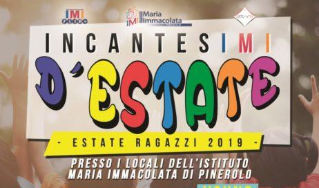 Pinerolo. Estate Ragazzi 2019 all'Istituto Maria Immacolata