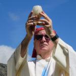 [Photogallery]. Messa al Selleries col vescovo Derio