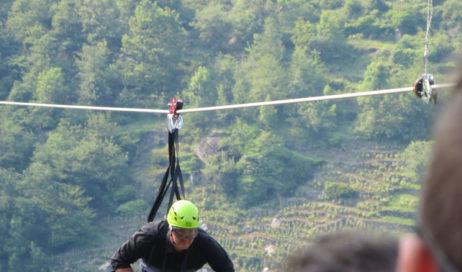 [Photogallery]. Seguendo il volo del dahù a Pomaretto