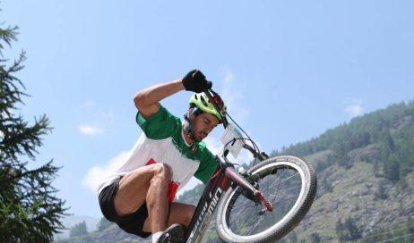 Usseaux. A Fraisse il Campionato italiano Bike Trials