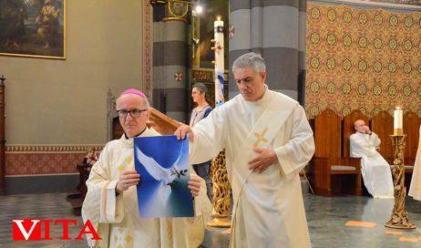 Gli auguri di Pentecoste del vescovo Derio