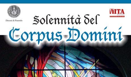 Pinerolo. Giovedì 20 giugno la processione del Corpus Domini