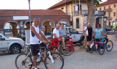 Avigliana. Biciclettata notturna del solstizio d'estate