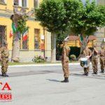 [Photogallery]. Cambio di comandante alla Caserma Berardi di Pinerolo