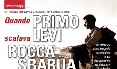 """100 anni fa nasceva Primo Levi. Nello speciale """"Vita d'Estate"""" l'infanzia a Torre Pellice e le scalate a Roca Sbarua"""