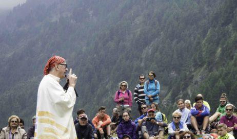 [ photogallery ] Più di 250 al Pra per la messa con mons. Derio