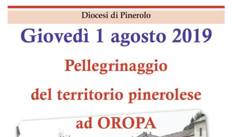 Giovedì 1 agosto il pellegrinaggio ad Oropa