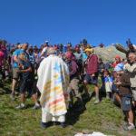 [Photogallery]. Più di duecento al Rifugio Lago Verde per la messa del vescovo