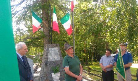 [Photogallery]. Ricordati i partigiani a Chambons