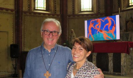 """[Photogallery]. Il vescovo Derio e la """"meravigliosa complicazione"""" delle relazioni nell'arte"""