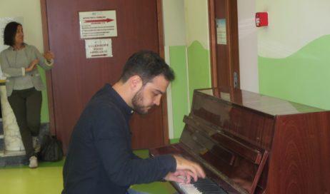 Pinerolo. Concerto di Simone Ivaldi… all'Ospedale Civile