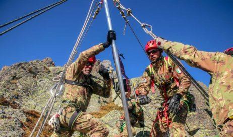 """Il 3° Alpini sul Monviso per l'esercitazione di soccorso alpino """"Altius One"""""""