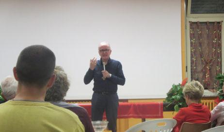 [Photogallery]. Monsignor Derio presenta la lettera pastorale in val Chisone