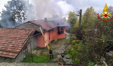 Villar Perosa. A fuoco la casa di Mauro Gigli, alpino caduto in Afghanistan