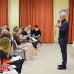 [Photogallery]. Il vescovo Derio presenta la lettera pastorale al Murialdo
