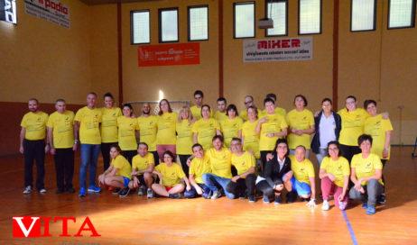 [Photogallery]. Inaugurato a Porte il primo campionato di volley inclusivo