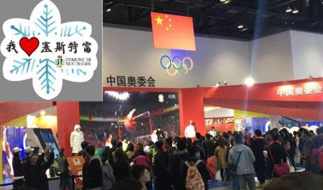 Sestriere. In Cina all'Expo degli sport invernali