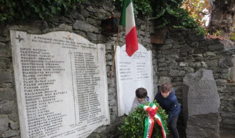 [Photogallery]. Festa dell'Unità nazionale tra Porte, Pinasca, Inverso e Roure
