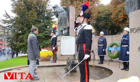 [Photogallery]. La commemorazione del 4 novembre a Pinerolo