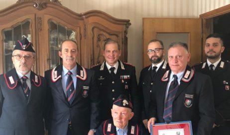 Paesana. Carabinieri in festa per i 100 anni dell'Appuntato Giaccone