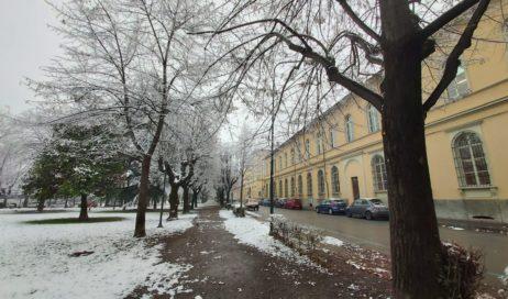 [Photogallery]. La neve sopra Pinerolo