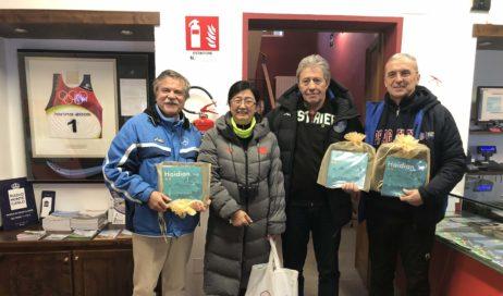 Sestriere. I cinesi in visita ai siti di Torino 2006