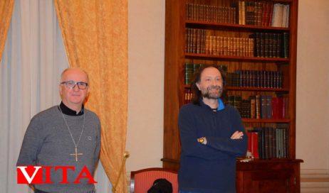 Pinerolo. Gli auguri del vescovo Derio ai collaboratori di Vita Diocesana