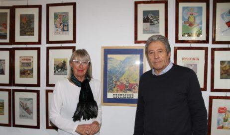 """Sestriere. Inaugurata la mostra """"La Réclame in Montagna"""""""