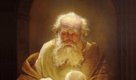 Simeone lo accolse tra le braccia e benedisse Dio