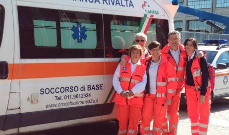 Rivalta. Un corso per volontari soccorritori della Croce Bianca