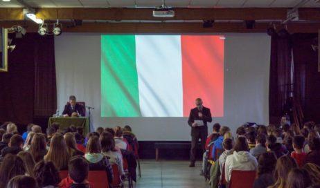 #Giornodelricordo – Il generale Mazzaroli, esule polesano, ha incontrato i ragazzi dell'Istituto don Bosco