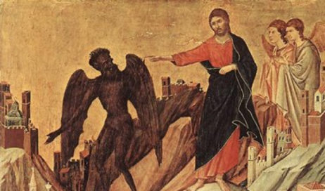 Gesù fu condotto dallo Spirito nel deserto, per essere tentato