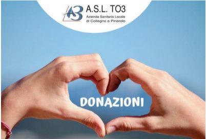 #coronavirus. In due settimane donati quasi 160mila euro all'Asl To3