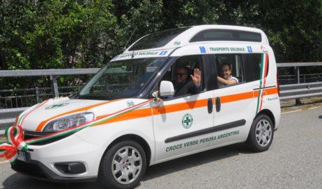 #coronavirus. La Croce Verde di Perosa porta la spesa ai bisognosi