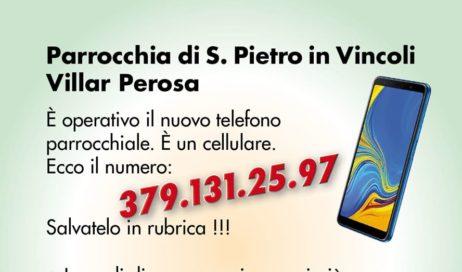 Villar Perosa. Le novità della parrocchia le trovi su Whatsapp