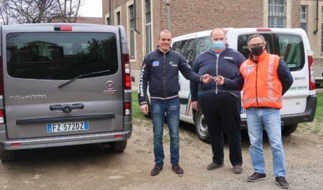 #coronavirus. Fiat mette 5 furgoni a disposizione di Anpas Piemonte