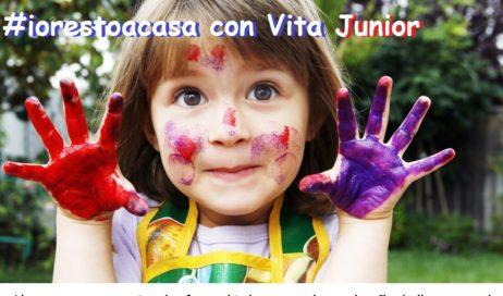 #iorestoacasa con Vita Junior