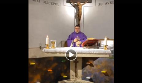 Le celebrazioni trasmesse in streaming dalle parrocchie