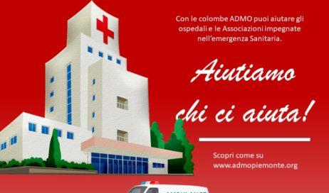 #coronavirus. Il ricavato delle Colombe Admo anche alla Croce Verde di Perosa e Porte