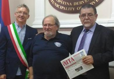 #coronavirus. La solidarietà di Derventa a Pinerolo