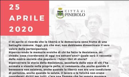 Pinerolo. Le iniziative (online) del Comune per il 25 aprile
